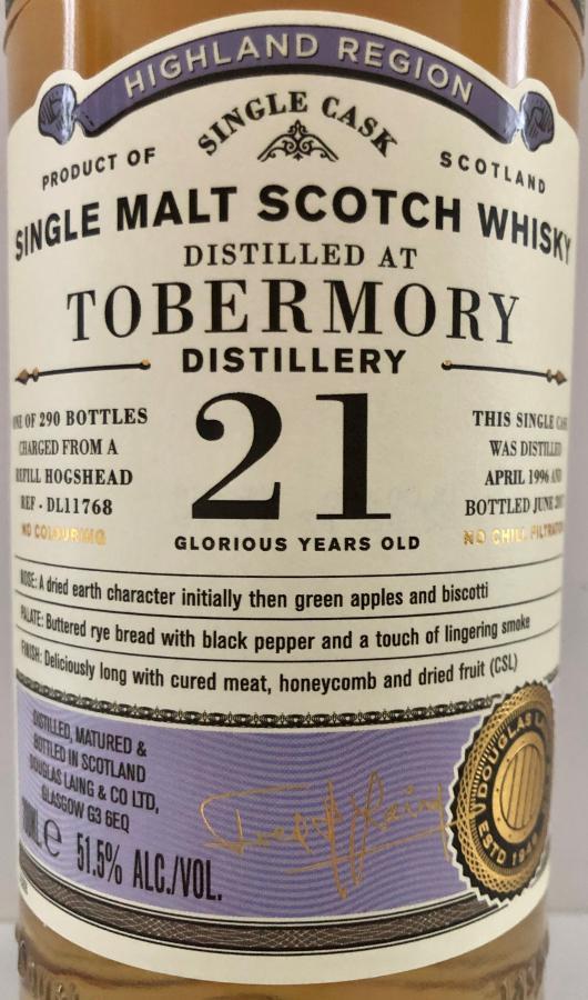 Tobermory 1996 DL
