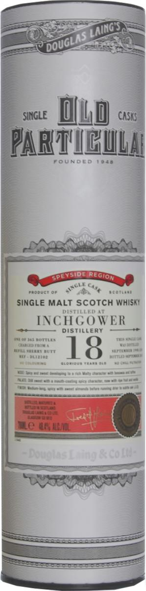 Inchgower 1998 DL