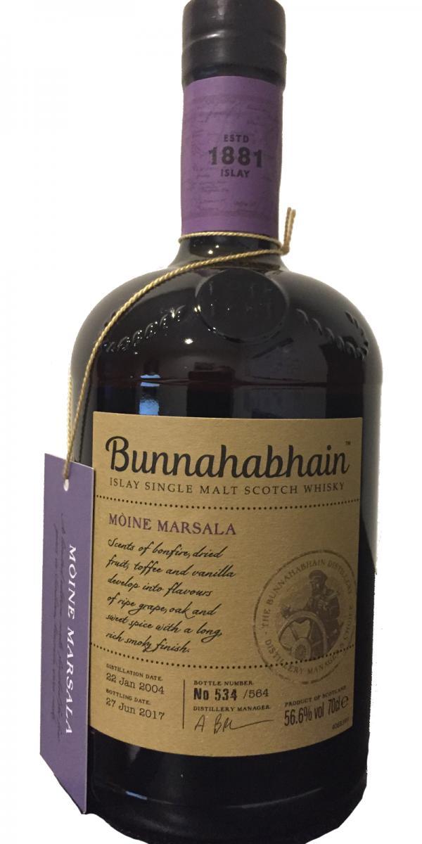 Bunnahabhain 2004 - Mòine Marsala