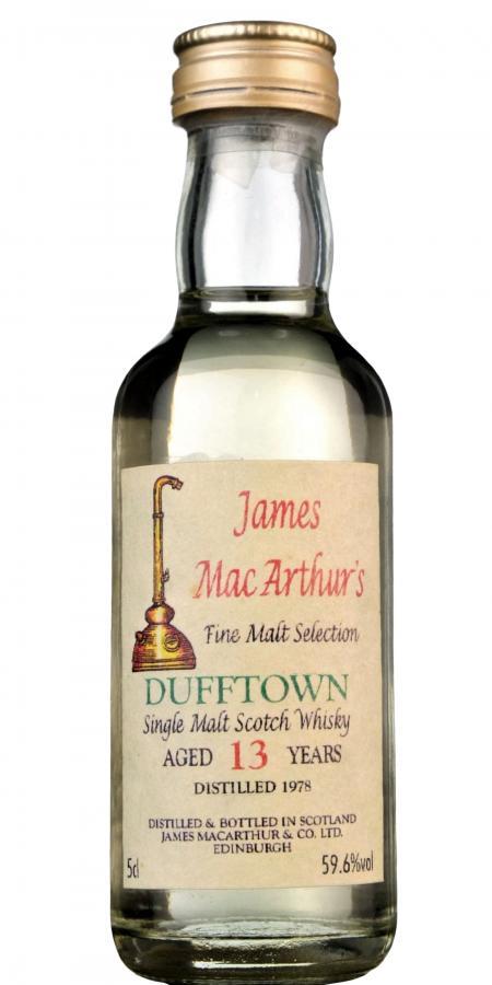 Dufftown 1978 JM
