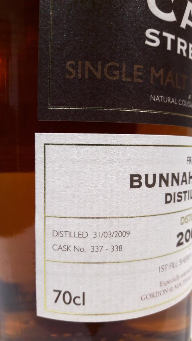 Bunnahabhain 2009 GM