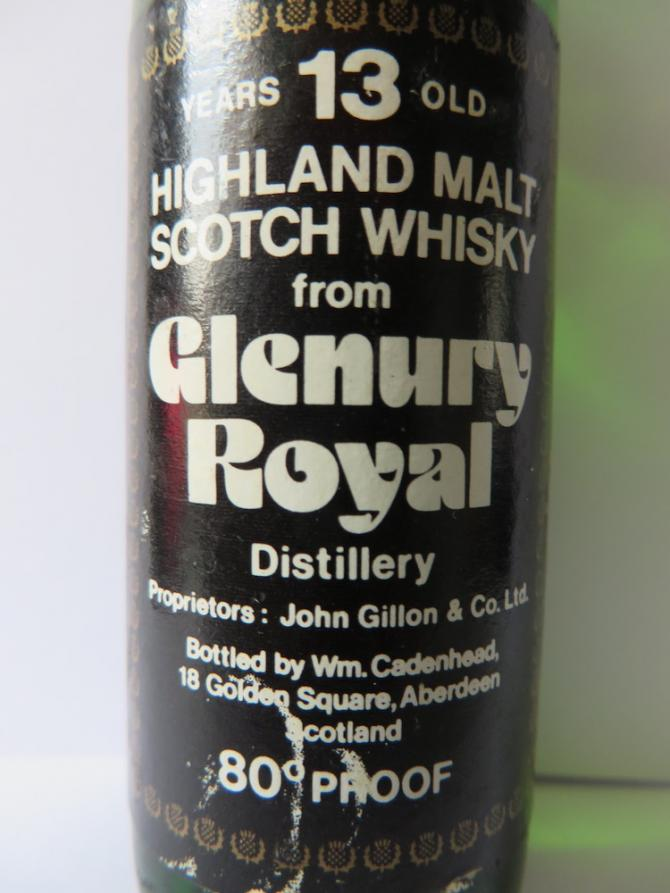 Glenury Royal 13-year-old CA