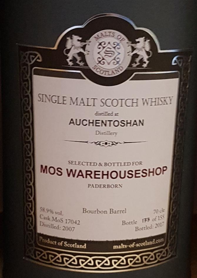 Auchentoshan 2007 MoS