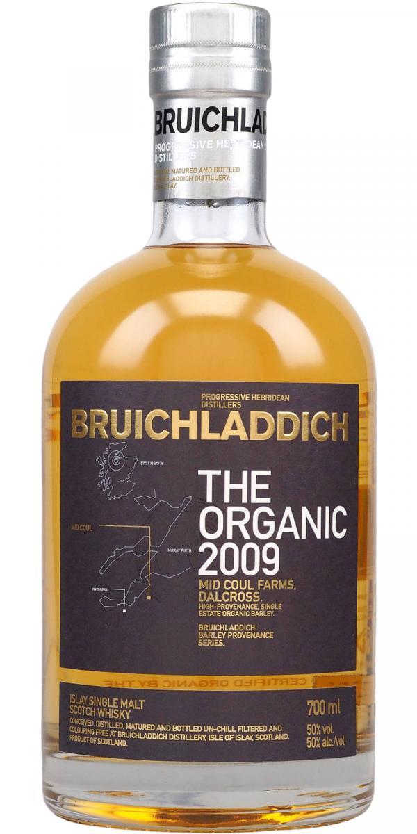 Bruichladdich 2009 - The Organic