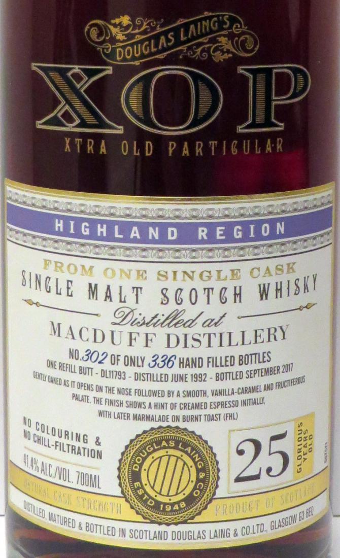 Macduff 1992 DL
