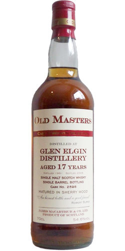Glen Elgin 1991 JM