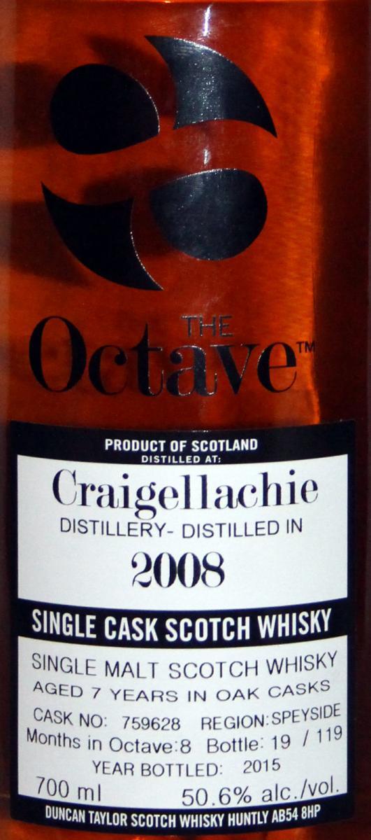 Craigellachie 2008 DT