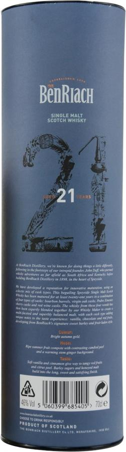 BenRiach 21-year-old