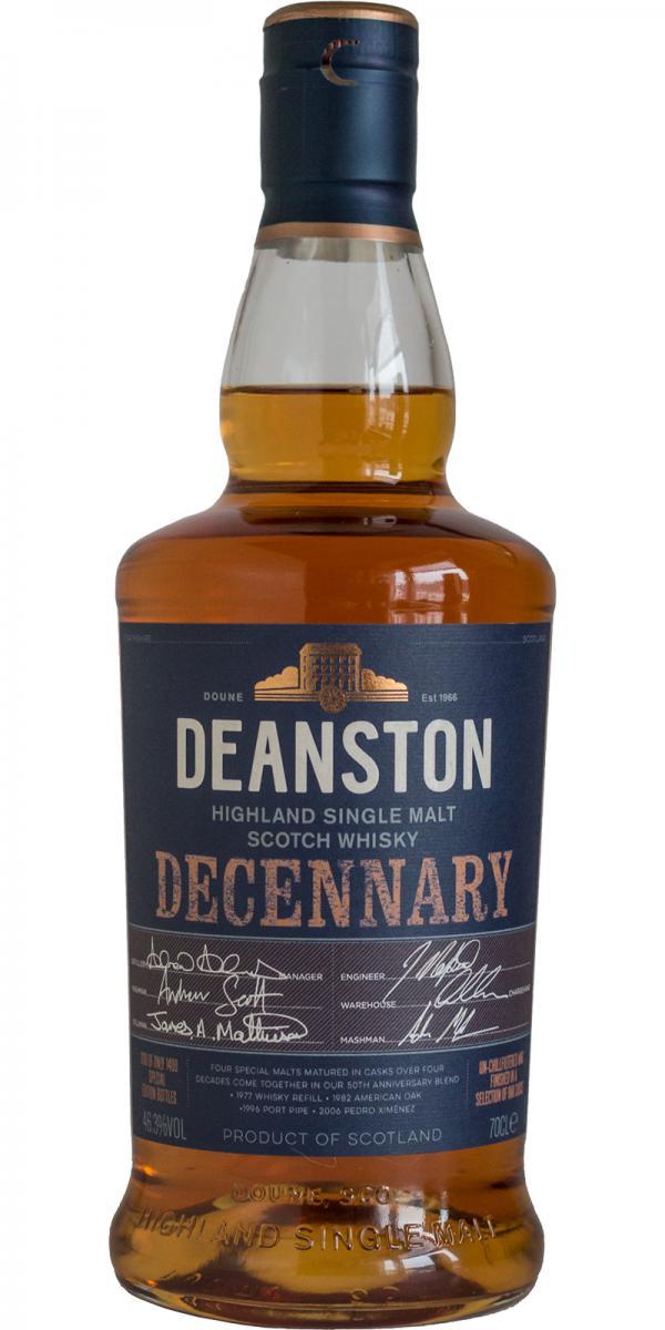 Deanston Decennary
