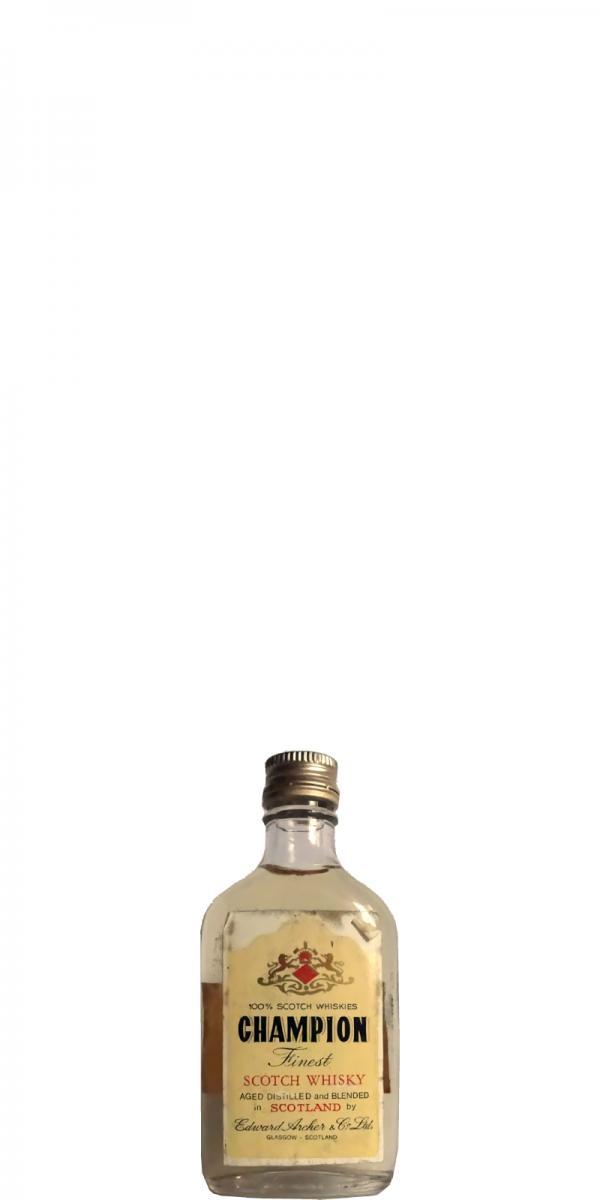 Champion Finest Scotch Whisky