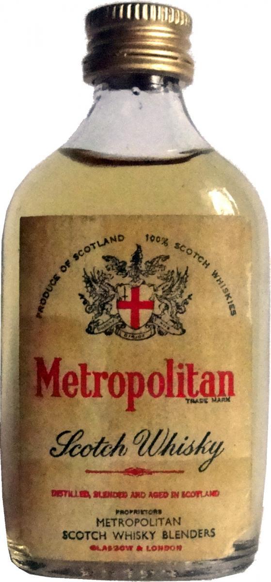 Metropolitan Scotch Whisky