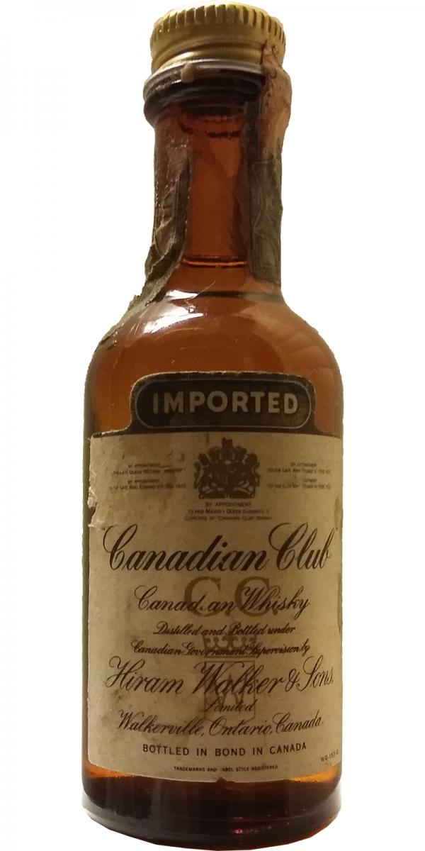 Canadian Club Imported