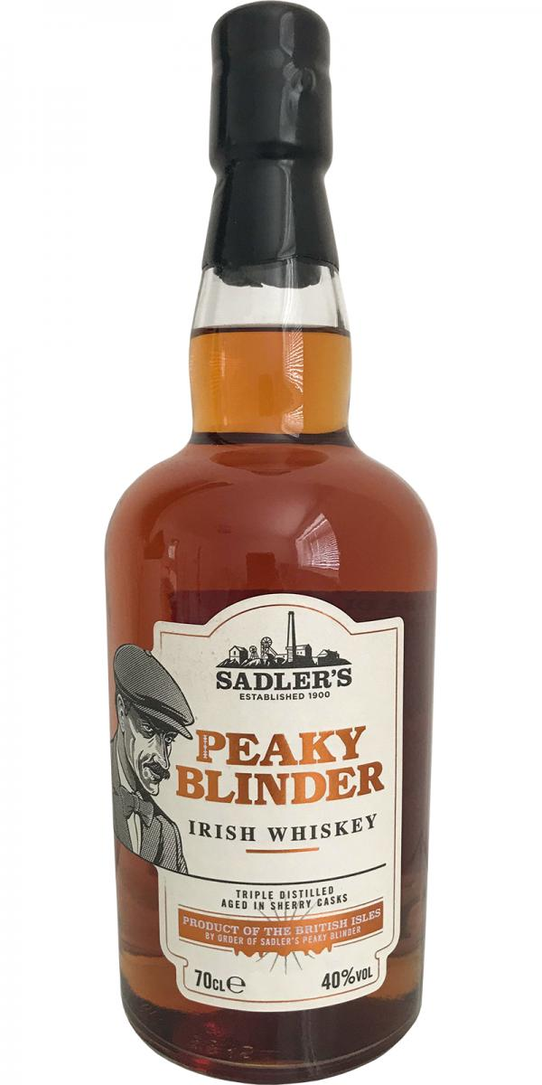 Peaky Blinder Irish Whiskey Sad