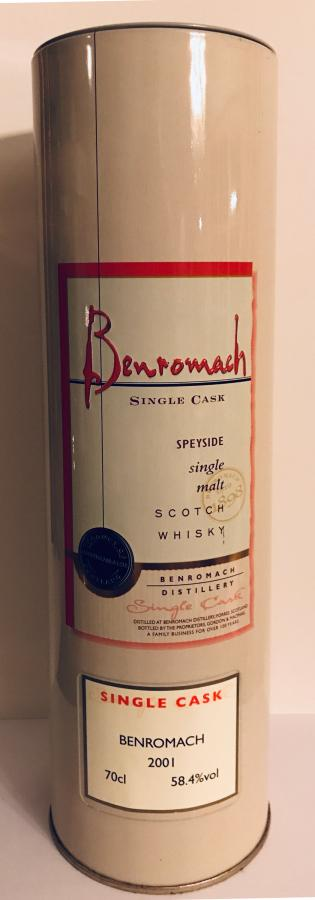 Benromach 2001