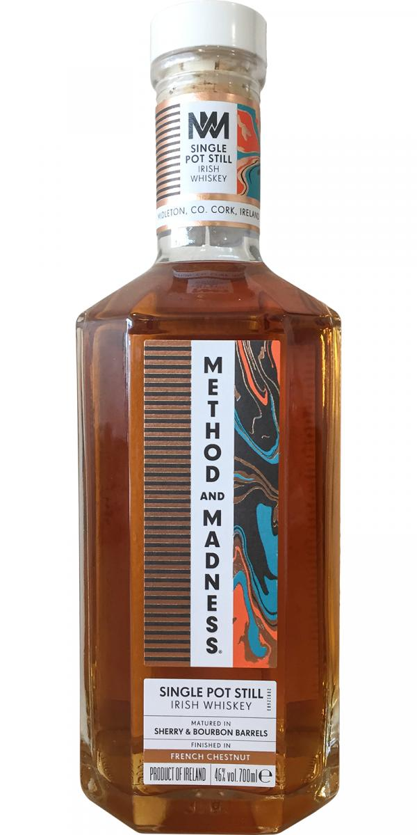 Method & Madness Single Pot Still Irish Whiskey