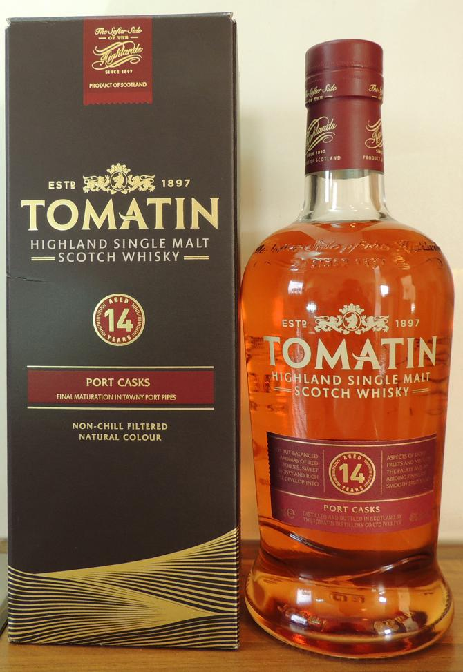 Tomatin 14-year-old - Port Casks