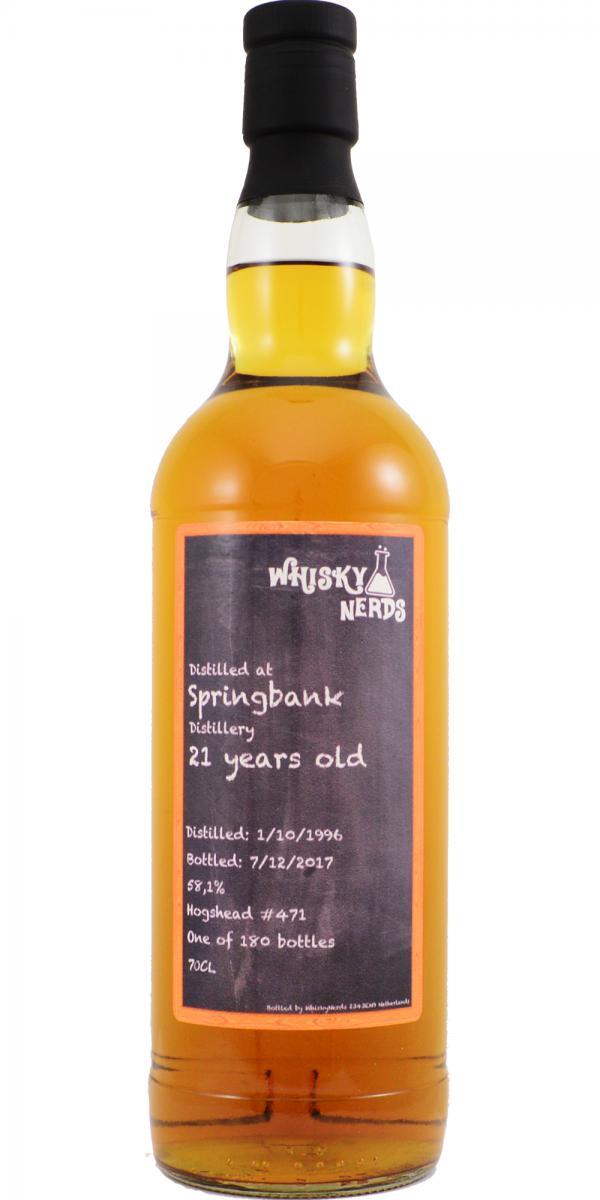 Springbank 1996 WN