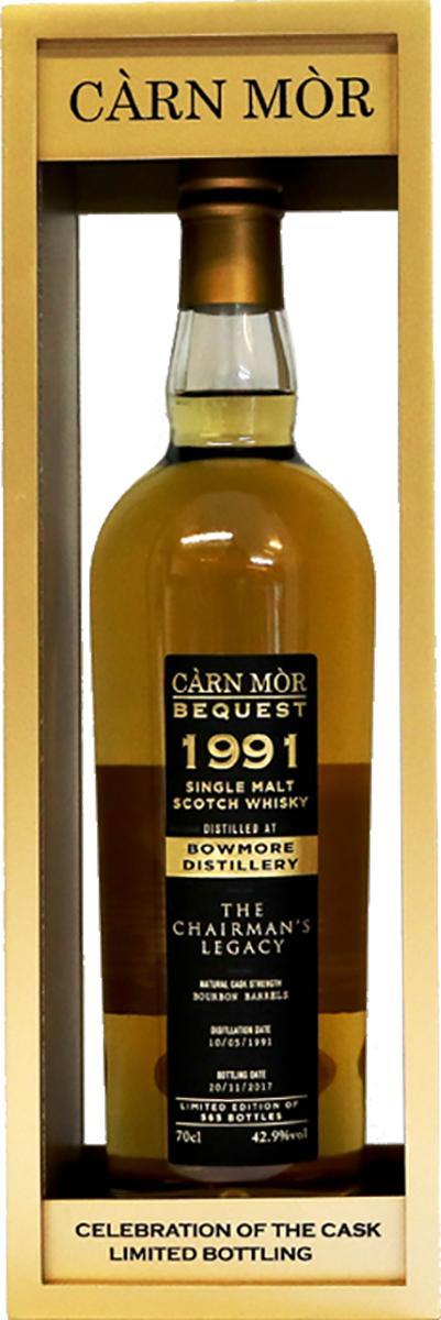 Bowmore 1991 MMcK