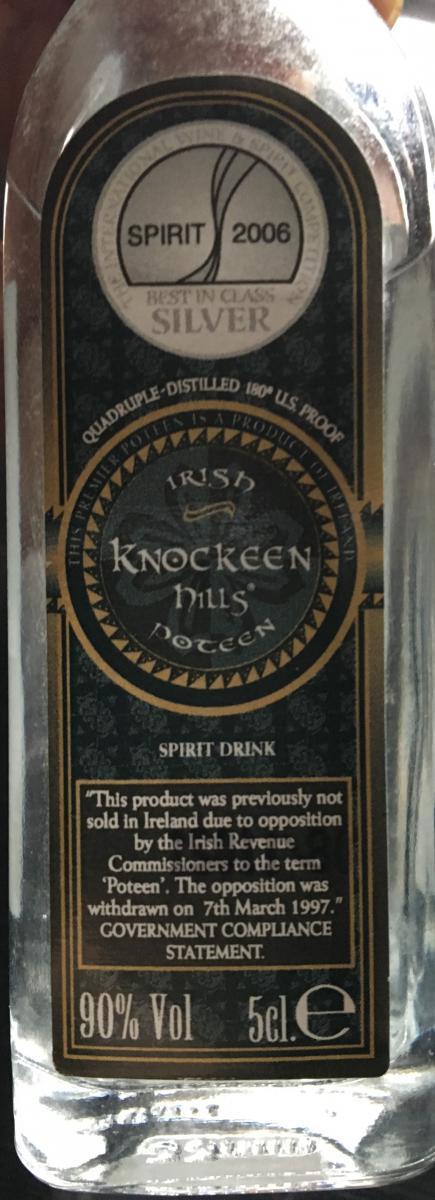 Knockeen Hills Irish Poteen