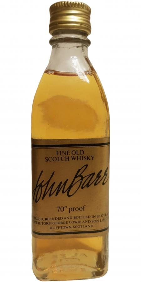 John Barr Fine Old Scotch Whisky