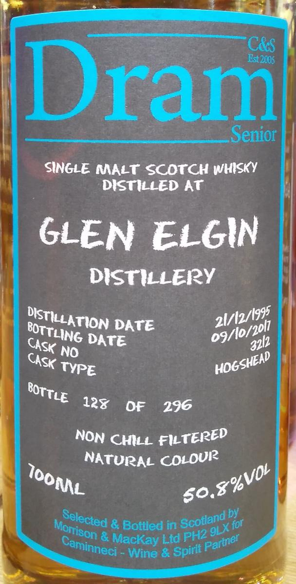 Glen Elgin 1995 C&S