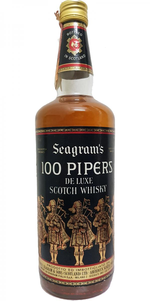 100 Pipers De Luxe Scotch Whisky SgrS
