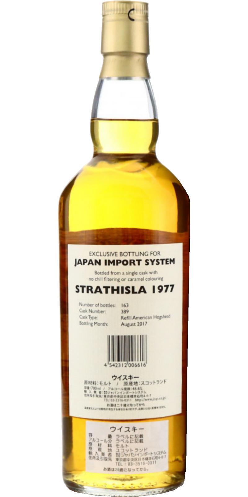 Strathisla 1977 GM