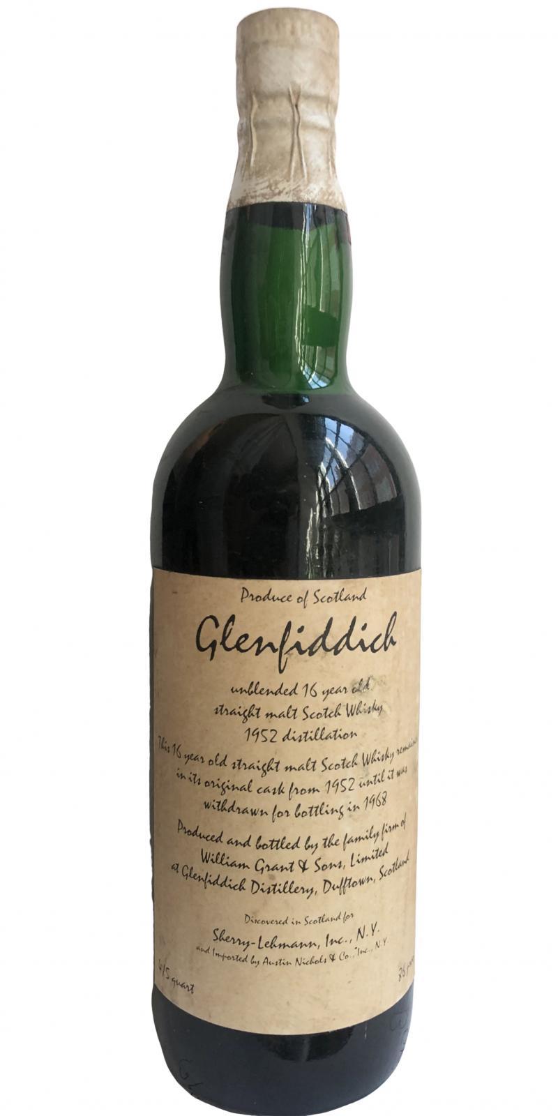 Glenfiddich 1952