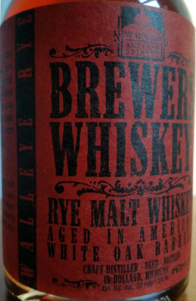 Walleye Rye Brewers' Whiskey