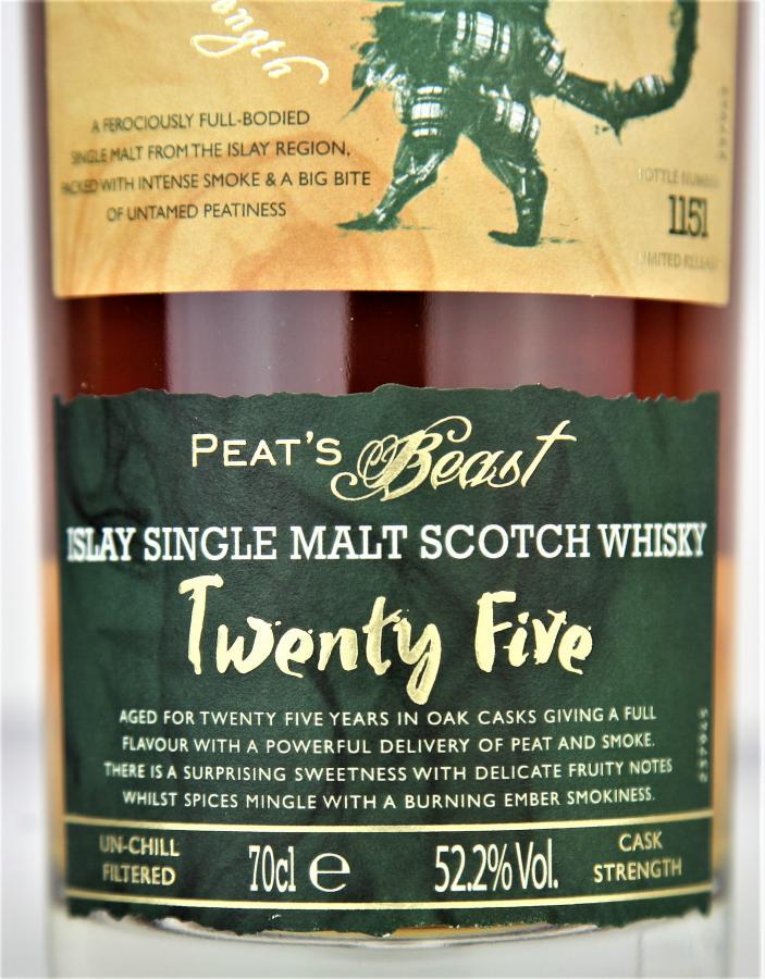 Peat's Beast Twenty Five