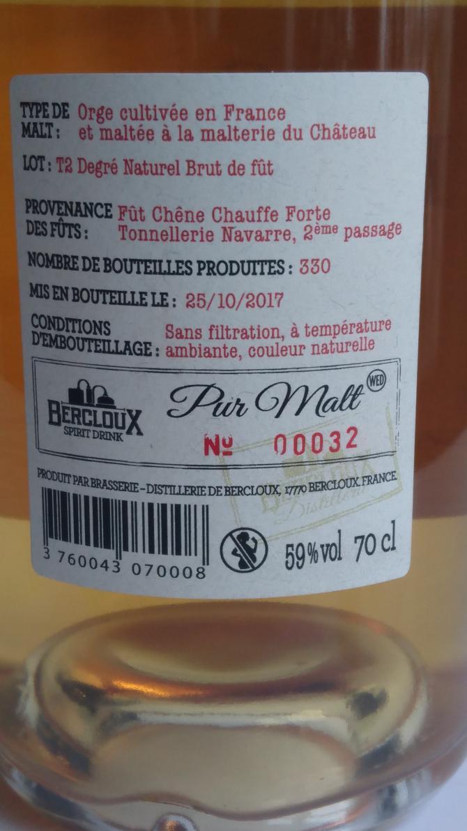 Bercloux Pur Malt
