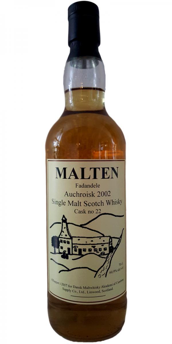 Auchroisk 2002 DMA