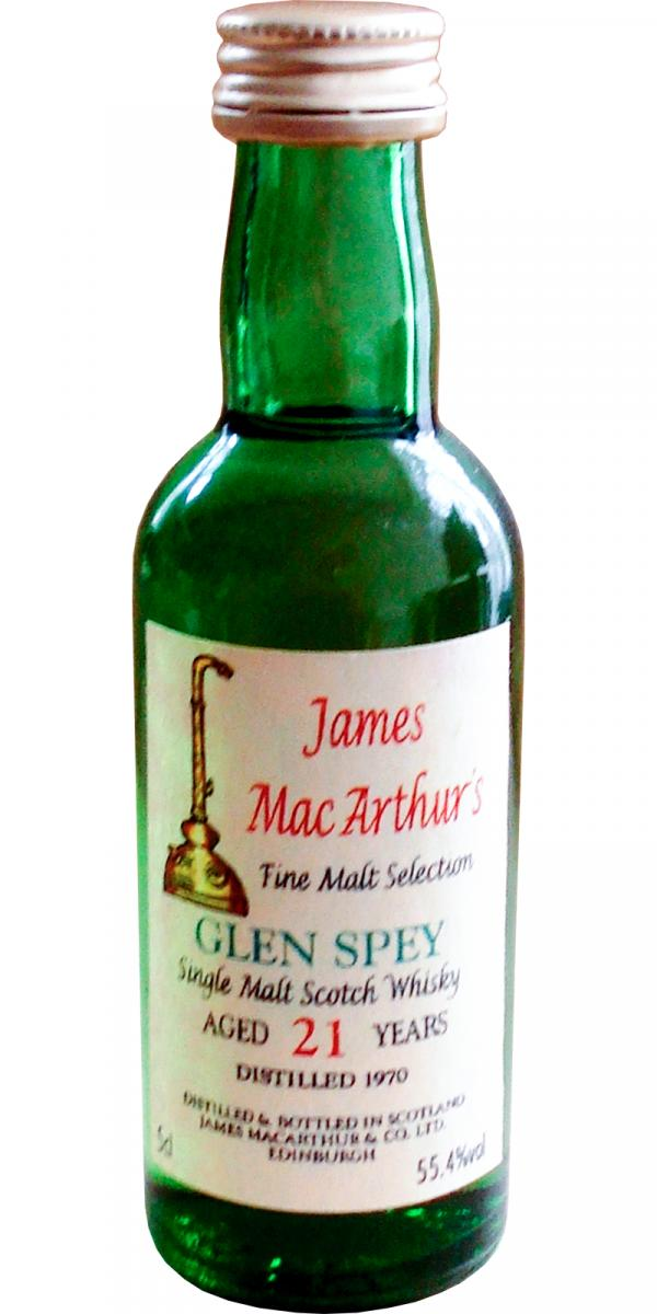 Glen Spey 1970 JM