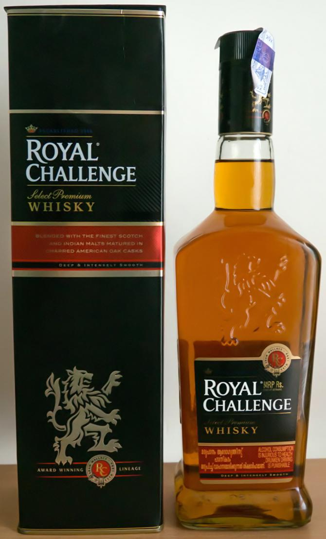 Royal Challenge Select Premium Whisky Ratings And