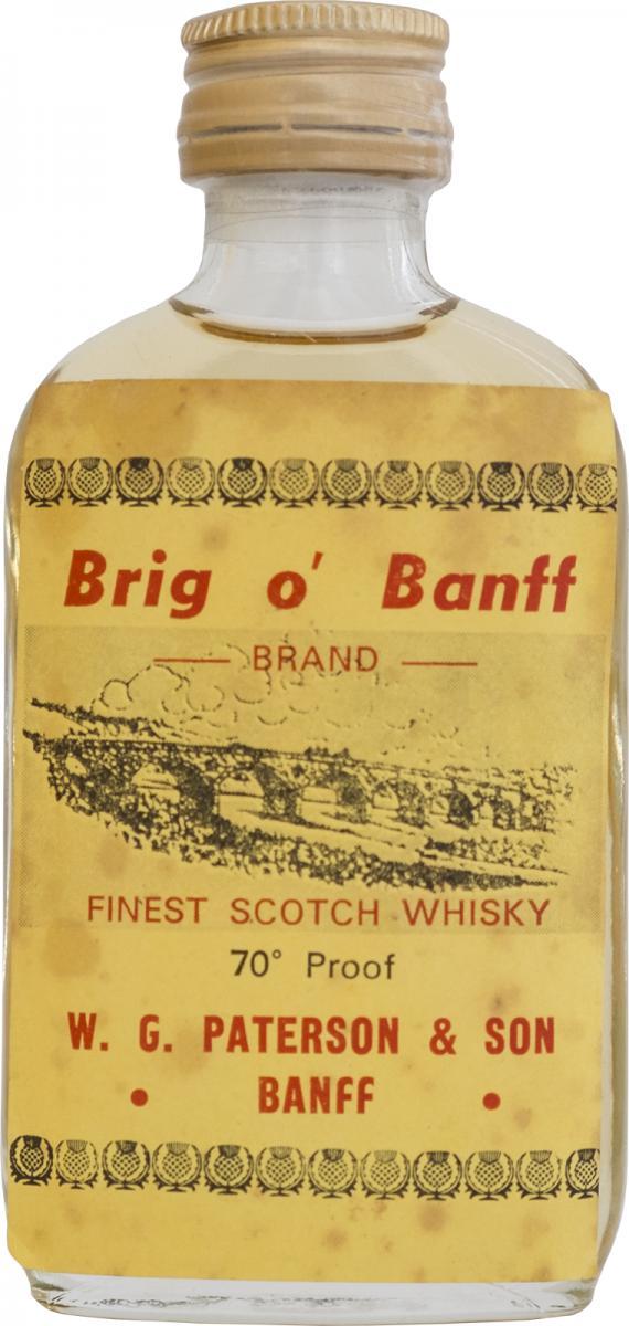 Brig o' Banff Finest Scotch Whisky