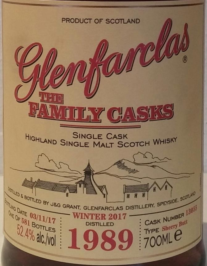 Glenfarclas 1989