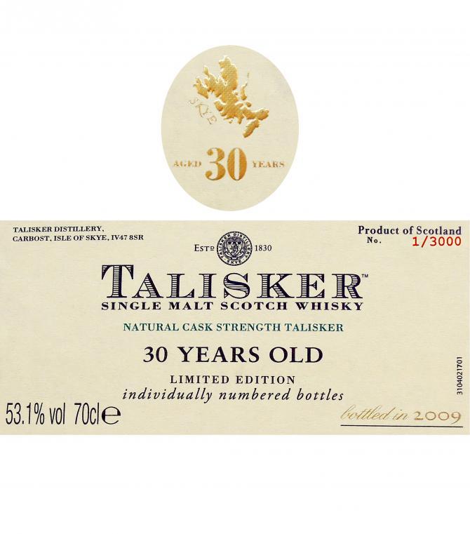 Talisker 30-year-old