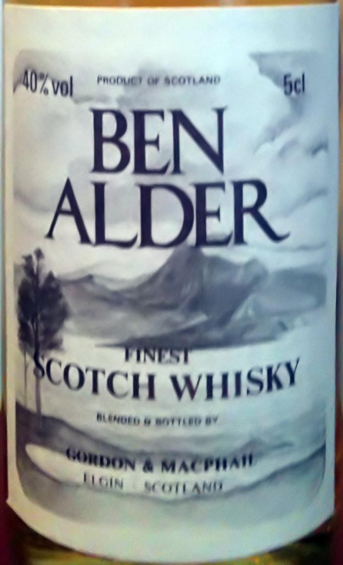 Ben Alder Finest Scotch Whisky