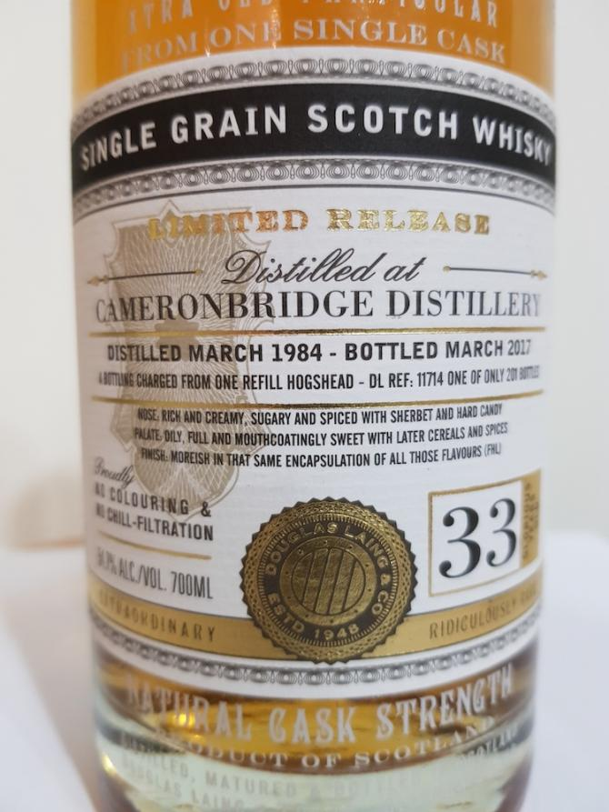 Cameronbridge 1984 DL