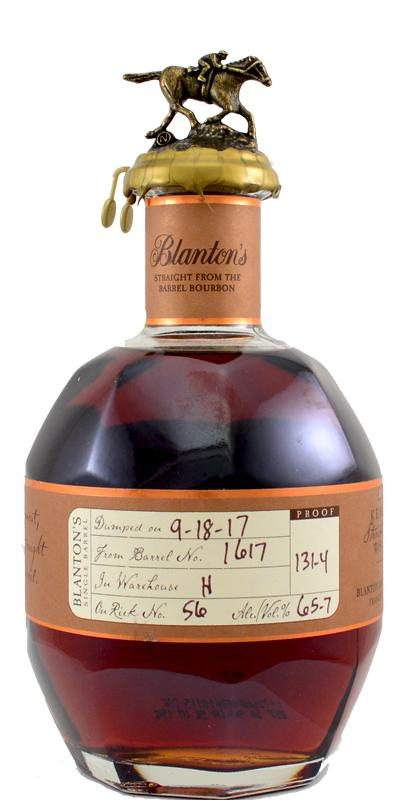 Blanton's Straight from the Barrel