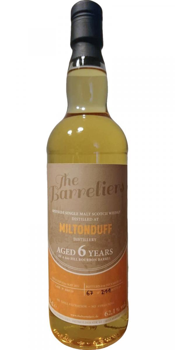 Miltonduff 2011 TBa