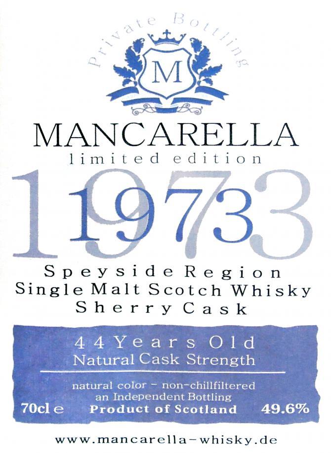 Speyside Region 1973 Ma