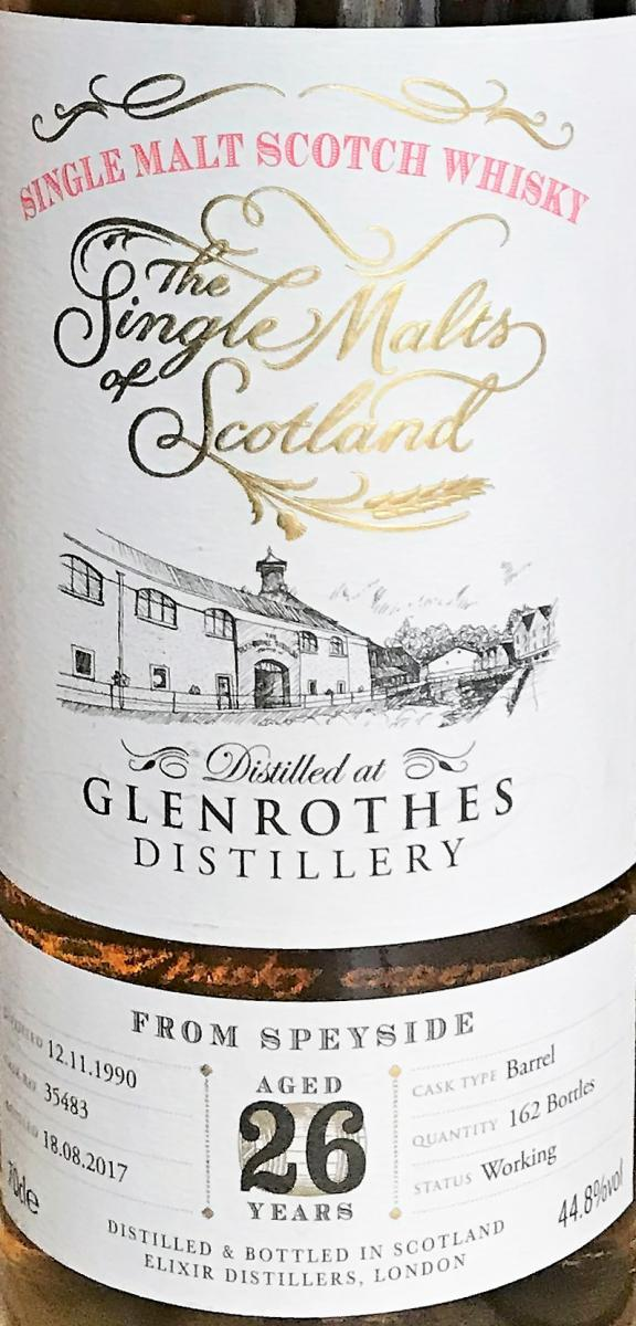 Glenrothes 1990 ElD