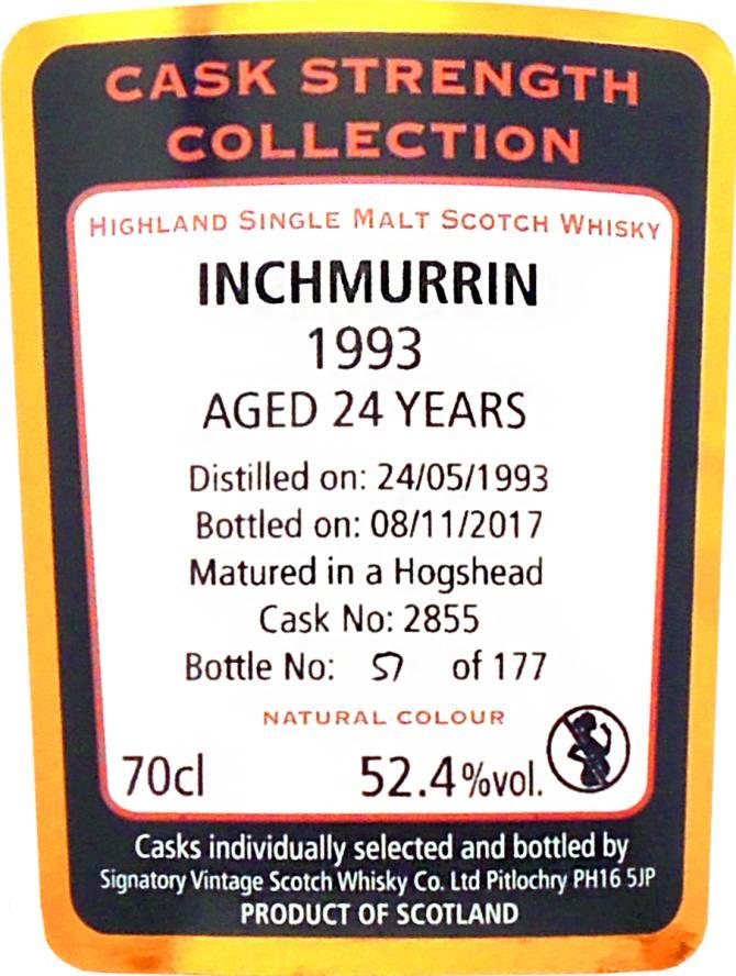 Inchmurrin 1993 SV