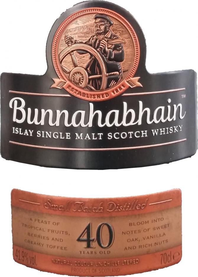 Bunnahabhain 40-year-old