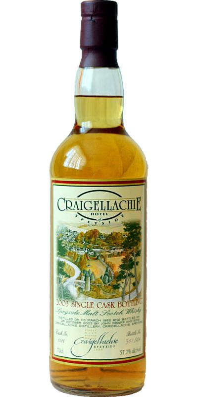 Craigellachie 1982 JD&S