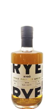 Kyrö Distillery Company Single Malt Rye Whisky