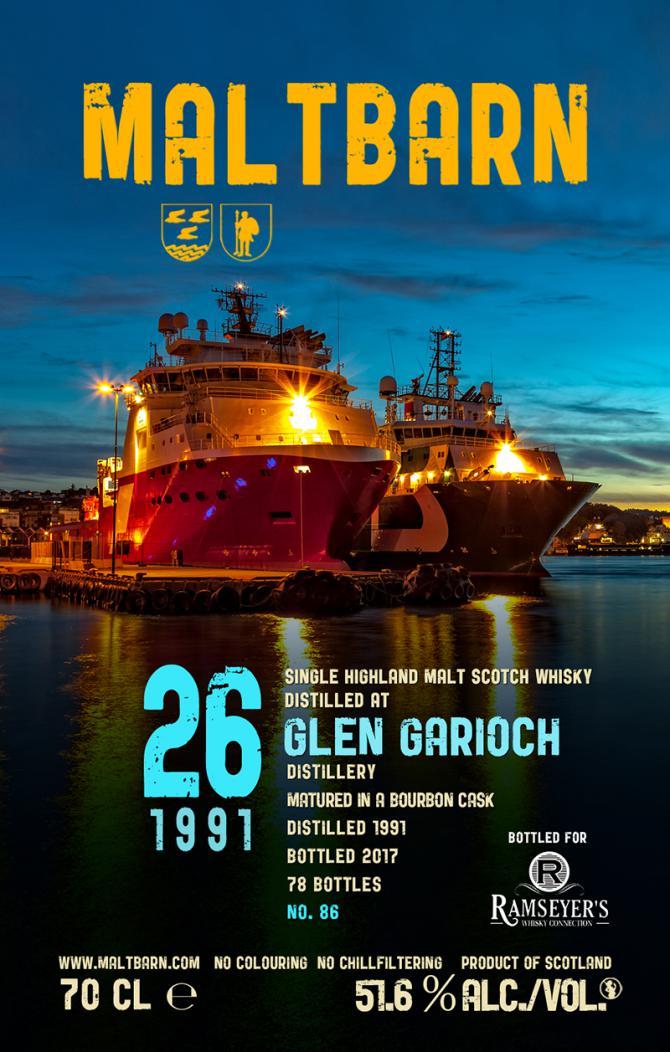 Glen Garioch 1991 MBa