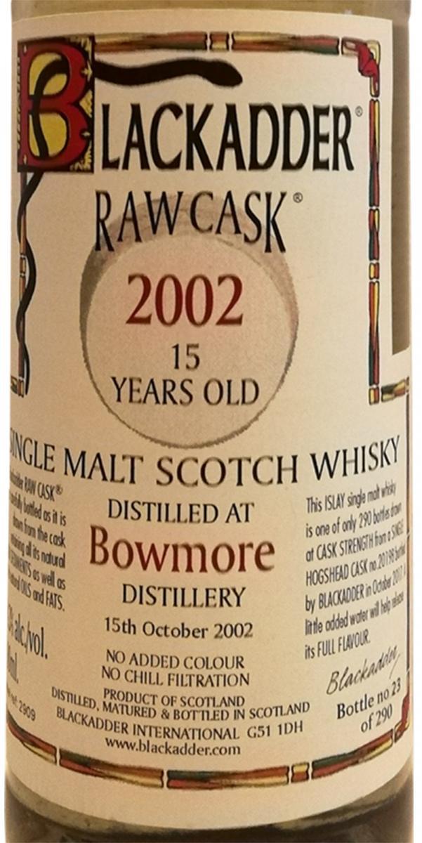 Bowmore 2002 BA