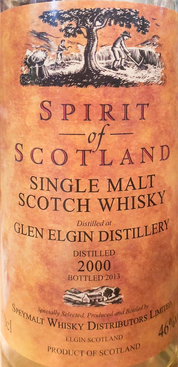 Glen Elgin 2000 GM